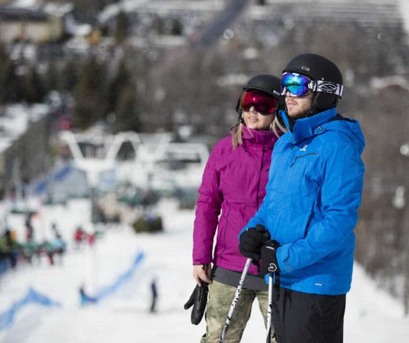 Couple Ski St-Bruno