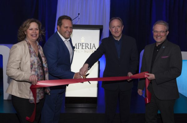 Official launch of Impéria Hôtel & Suites Boucherville